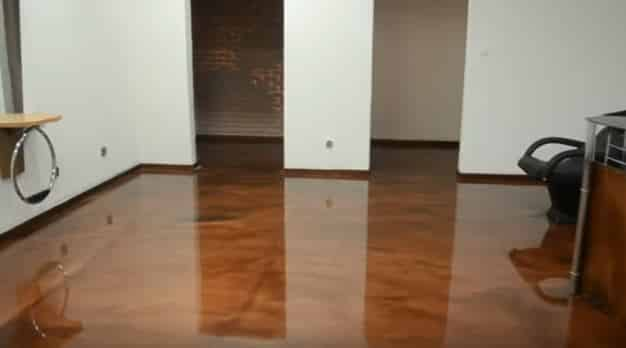 Concrete Services - Epoxy Flooring Walnut Forest